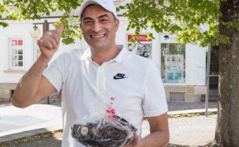 Hicham Bensaif ist Vereinsmeister der LSG Pfullingen 2020